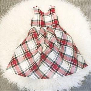 GYMBOREE Girl's Tartan Plaid Dress size 5